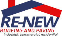 RE-NEW Roofing and Paving Logo